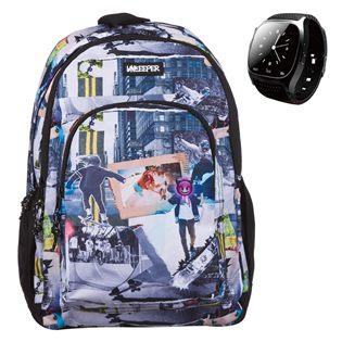 d2a0d27ae1 Σχολική Τσάντα Street   Smartwatch Unkeeper (Διαγωνισμός JUMBO)   Τσάντες  Unkeeper