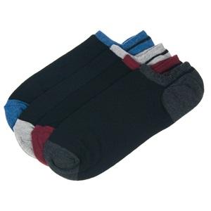 Αθλητικές Κάλτσες Σοσόνια Μαύρο Χρωματιστή Φτέρνα - 4 ζευγ. 066327c653b
