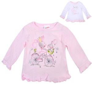 Μπλούζα Βρεφική Μακό Ροζ Λαγουδάκι - 2 τμχ. 82e3853564f