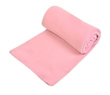 Κουβέρτα Fleece Powder Pink 150x220