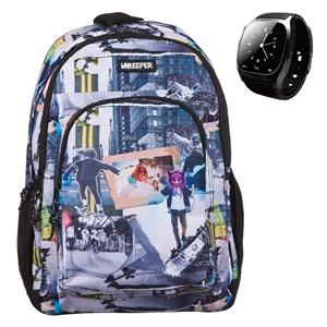f2319a85ef Σχολική Τσάντα Street   Smartwatch Unkeeper (Διαγωνισμός JUMBO)