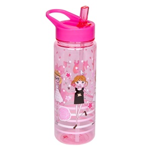 Παγούρι Flip Up  Fashion Girl 650 ml.