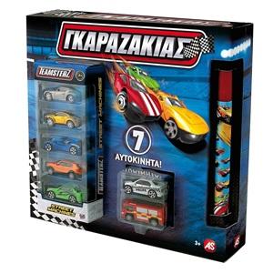 6b3ae61d38a Λαμπάδα Γκαραζάκιας με 7 Αυτοκίνητα- AS