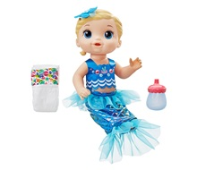 BABY ALIVE Shimmer 'n Splash Mermaid - Hasbro