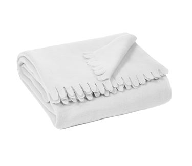 Ριχτάρι Fleece Off-White 130x170