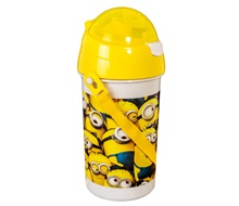 Παγούρι Pop Up MINIONS 500 ml.
