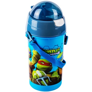 Παγούρι Pop Up NINJA TURTLES 500 ml.