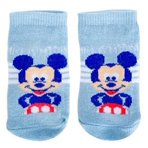 Κάλτσες Βρεφικές Βαμβακερές MICKEY Σιέλ 57fc2e1f427