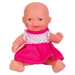 Μωρό Ροζ Πουά Φορεματάκι 13 εκ.