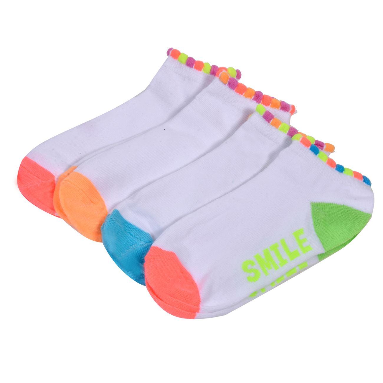 Κάλτσες Παιδικές Σοσόνια - 4 τμχ.   Κάλτσες Σοσόνια Κορίτσι Πακέτα 29-34  f1169b980e6