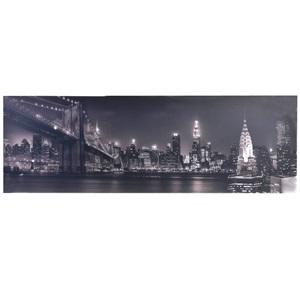 Masă de iluminat cu LED-uri de tablă de mână, New York 90x30