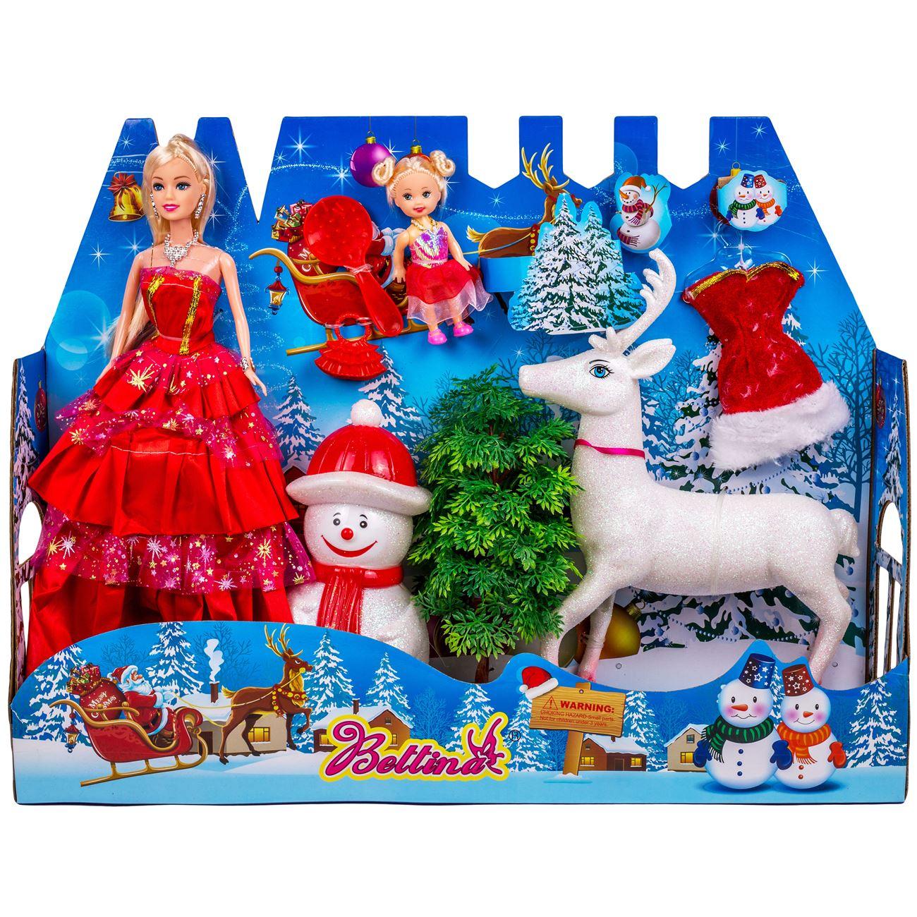 2e3d5705a6d1 Χριστουγεννιάτικη Κούκλα Μανεκέν   Αξεσουάρ - 7 τμχ.   Κούκλες Μανεκέν  Χριστουγεννιάτικες