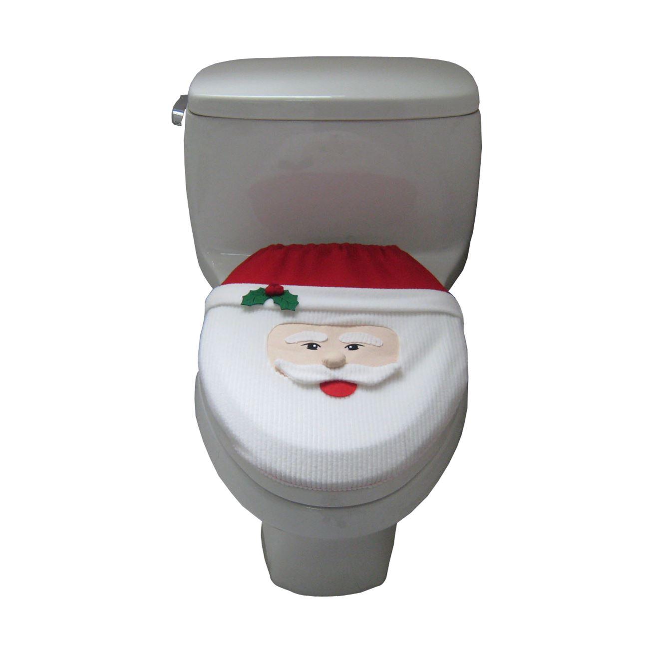 e73067488bf6 Χριστουγεννιάτικο Κάλυμμα Τουαλέτας Άη Βασίλης 42x36   Κάλυμματα Τουαλέτας  Χριστουγεννιάτικα