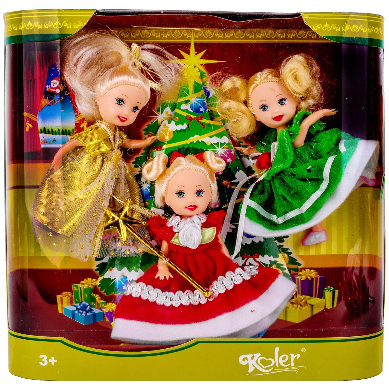 c15f137c40ae Χριστουγεννιάτικες Κούκλες - 3 τμχ.   Κούκλες Μανεκέν Χριστουγεννιάτικες