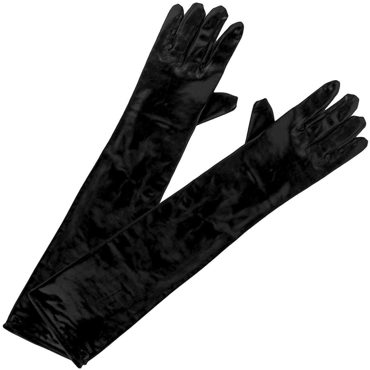 Αποκριάτικα Γάντια Δερμάτινα 48 εκ.   Γάντια Μεταμφίεσης  7cbbdbfd2c2