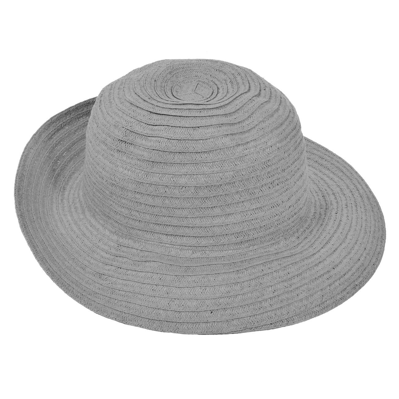 0386c56063 Καπέλο Γυναικείο Γκρι   Καπέλα Ψάθινα Γυναικεία
