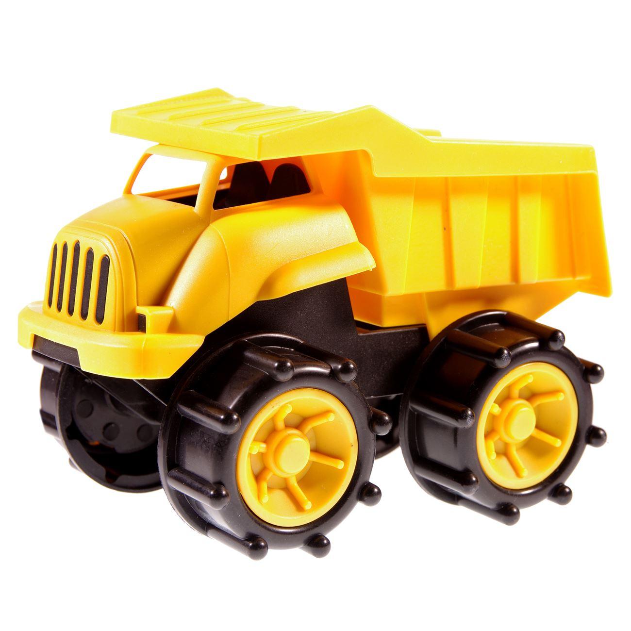 e60122e0219 Φορτηγό Ανατρεπόμενο Friction Κίτρινο 13 εκ. < Δομικά Οχήματα Προσχολικά    Jumbo