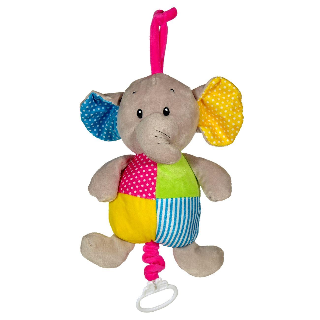1fa5b5bab50 Παιχνίδι Κούνιας Ελέφαντας με Μουσική 27 εκ. < Μουσικα Παιχνίδια Κρεβατιού  Τραβηχτά | Jumbo