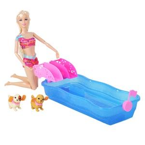 2f52ec4adb06 Κούκλα Μανεκέν με μίνι πισίνα για σκυλάκια