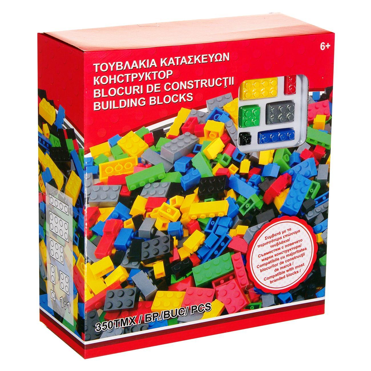 bd3f00f55b5 Τουβλάκια κατασκευών basic 350 τεμάχια < Τουβλάκια Value Pack | Jumbo