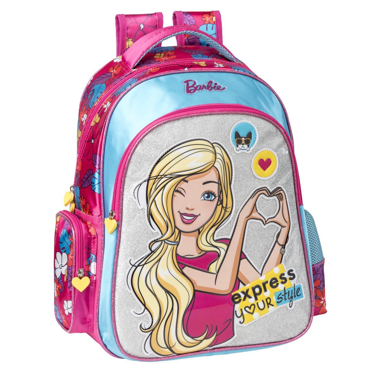 42376359e1e Σχολική Τσάντα Δημοτικού BARBIE < Τσάντες Δημοτικού για Κορίτσια | Jumbo