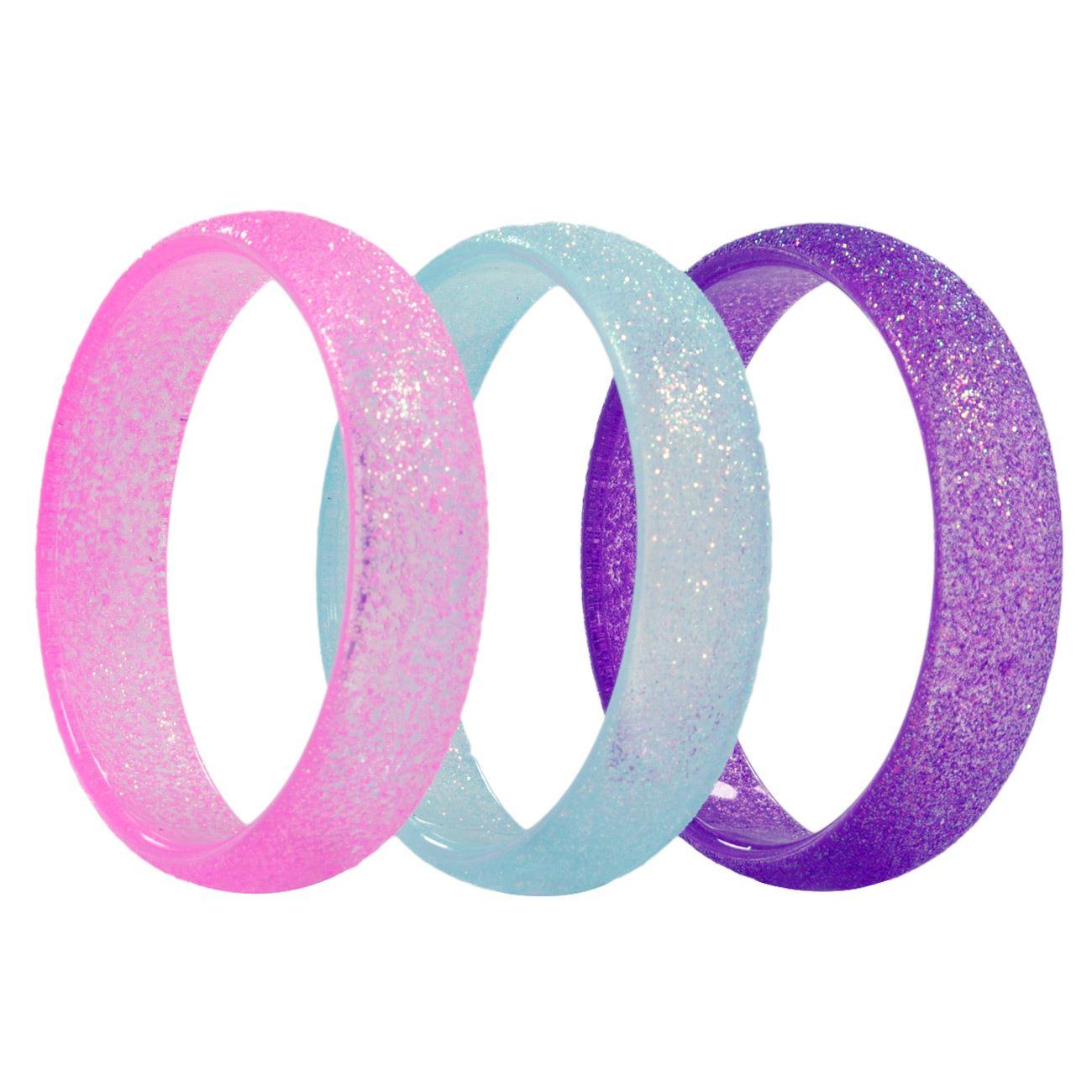 Βραχιόλια Glitter Χρωματιστά Παιδικά - 3 τμχ.   Βραχιόλια Παιδικά ... 1666a2babe0