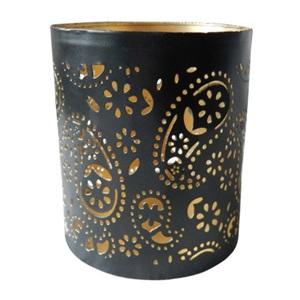 HCE BASE METAL BLACK GOLD LAKE10CM