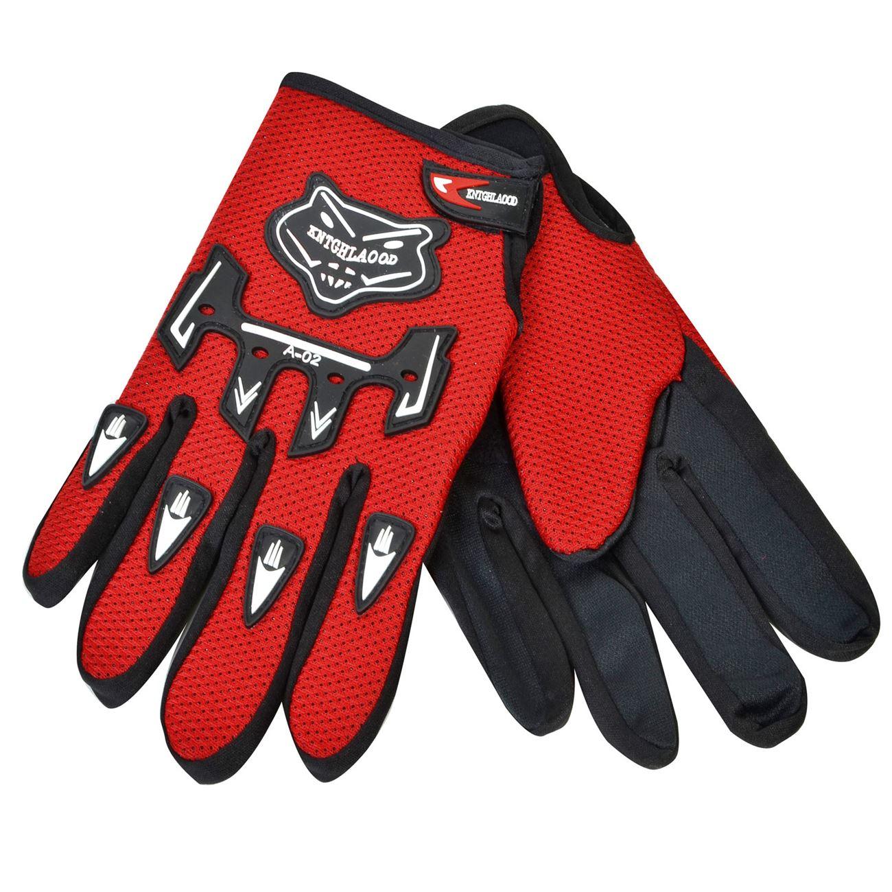 Γάντια Μοτοσυκλετιστή Κόκκινο Μαύρο One Size   Αξεσουάρ Μηχανής  fa27b725ac1