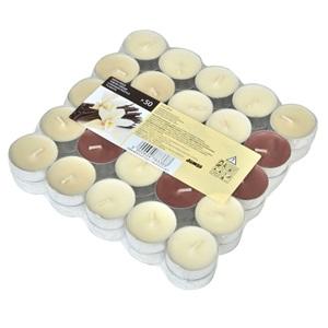 Lumânări roșu Ivory Brown - 50 buc.