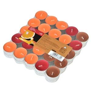 Lumânări roșu Portocaliu roșu - 50 buc.
