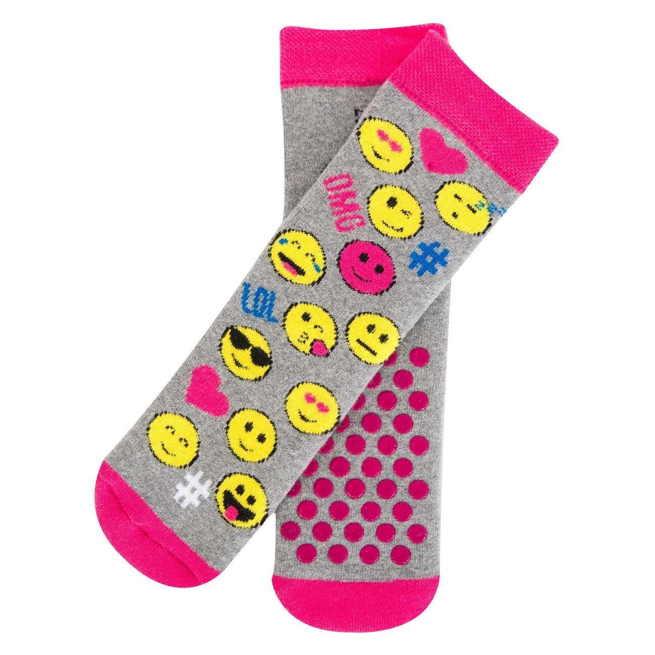 Κάλτσες Παιδικές Αντιολισθητικές EMOTICONS - 1 ζευγ.   Κάλτσες ... b9afc46709d
