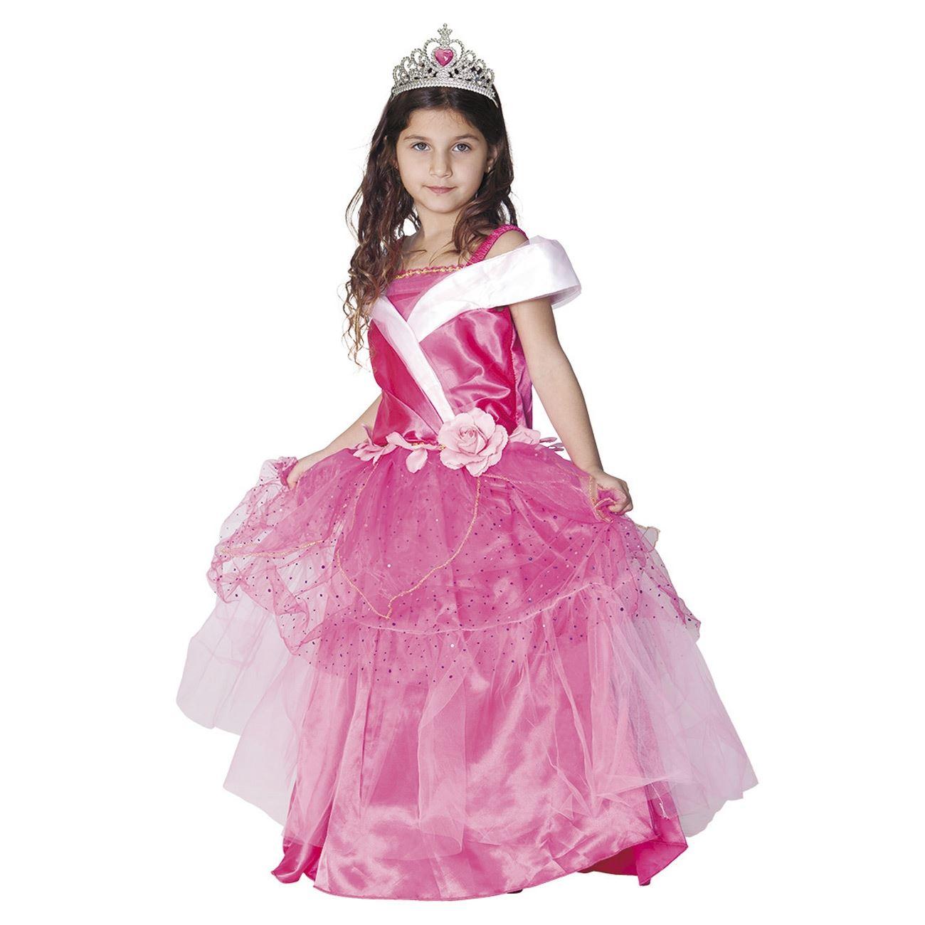 Αποκριάτικη Στολή Πριγκίπισσα Φούξια Φόρεμα bac9c32480a