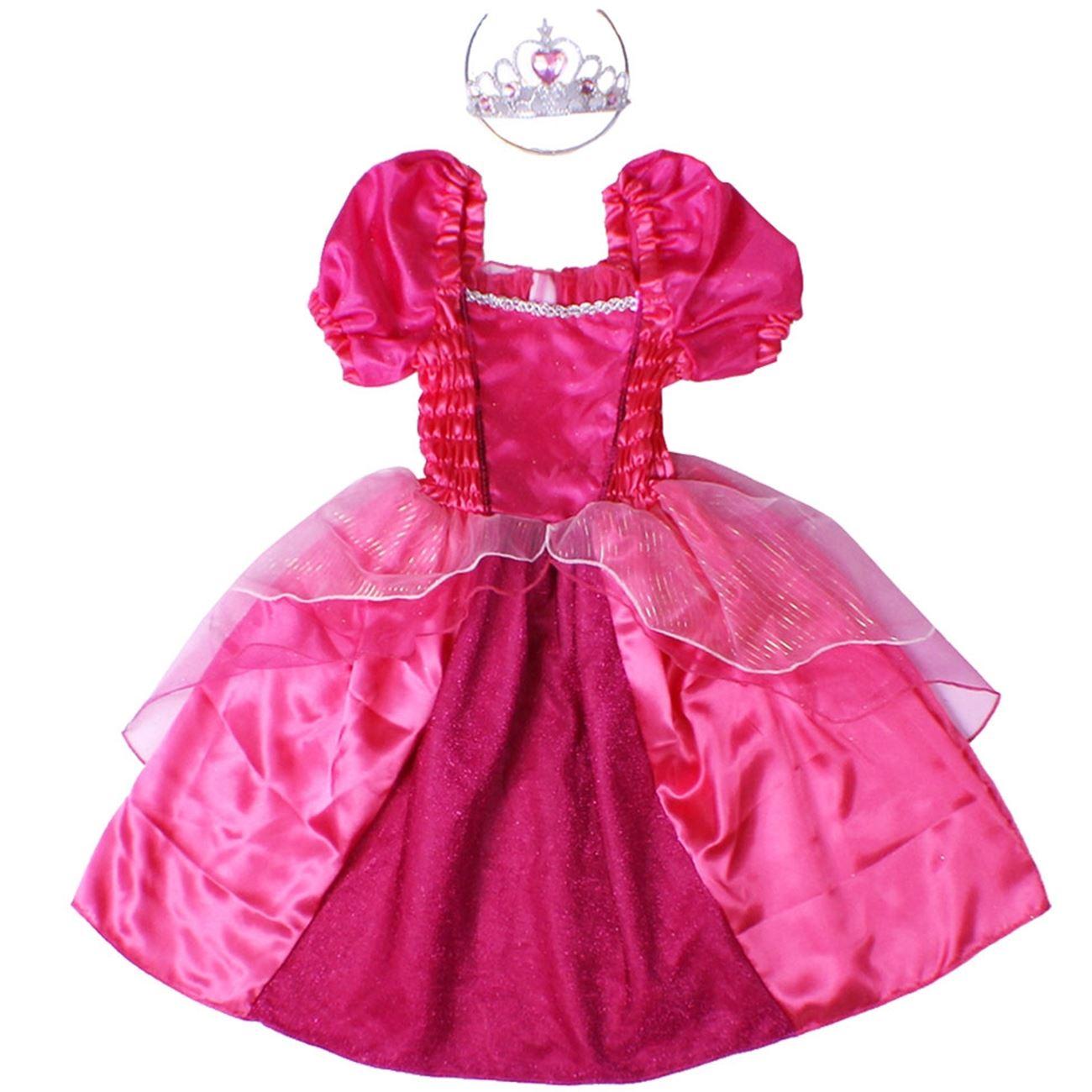 Αποκριάτικη Στολή Πριγκίπισσα Φόρεμα   Στέμμα 3176348a3fb