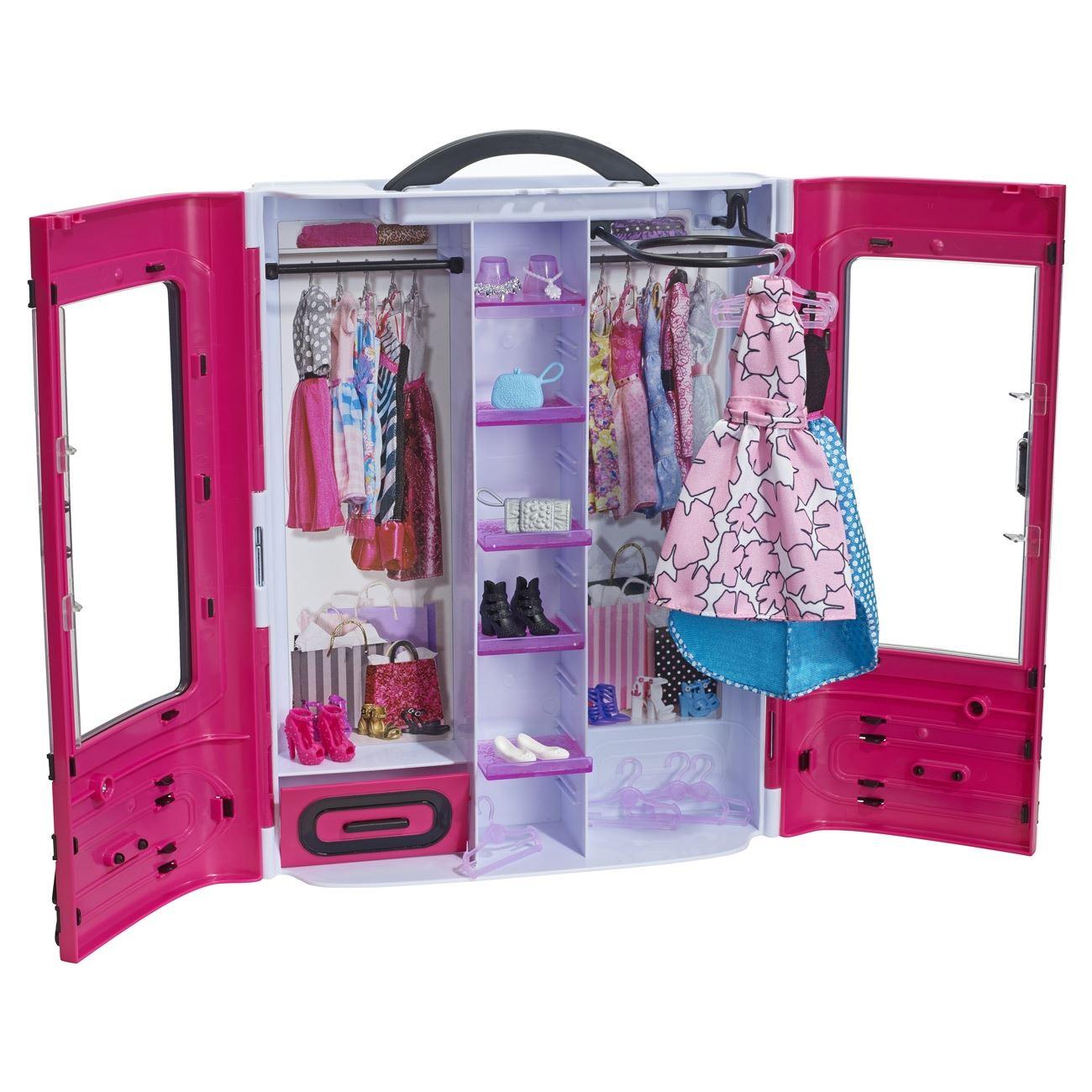3a1e6a5274ed Ντουλάπα BARBIE Fashion - Mattel < Barbie Έπιπλα | Jumbo