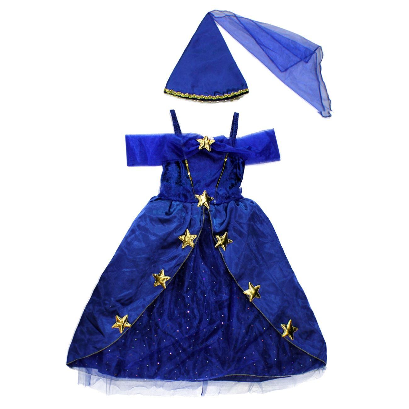 Αποκριάτικη Στολή Πριγκίπισσα Μπλε Φόρεμα 7595b86895f