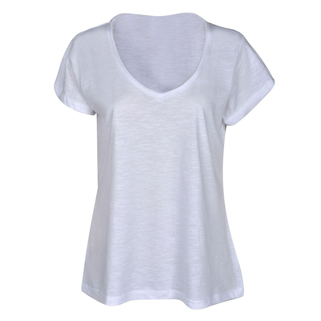 Μπλούζα Γυναικεία Κοντομάνικη Λευκή   Κοντομάνικες Basic  f2120bf3b7d