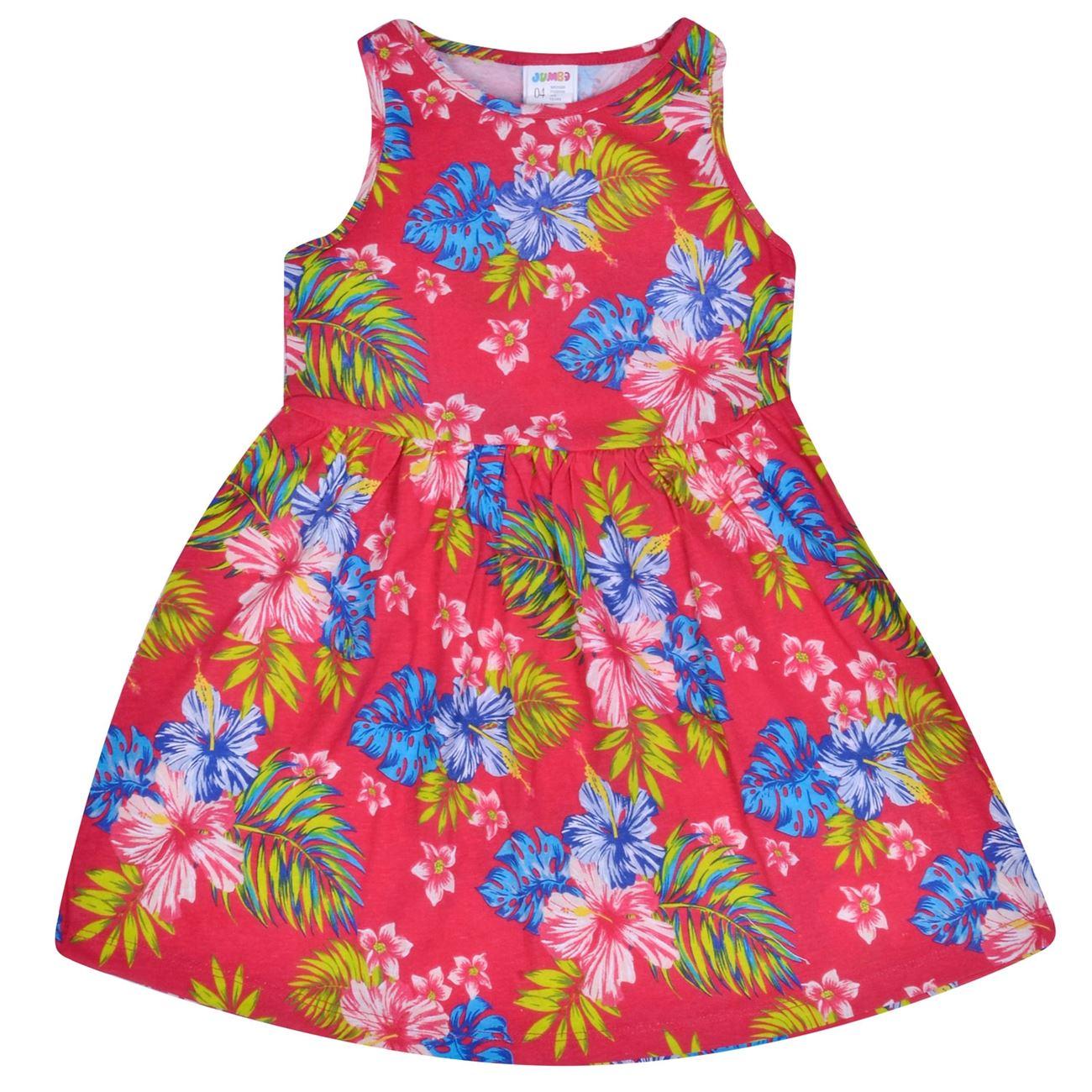 4fa620847bd0 Φόρεμα Αμάνικο Παιδικό Κόκκινο Εμπριμέ   Φορέματα για Κορίτσια