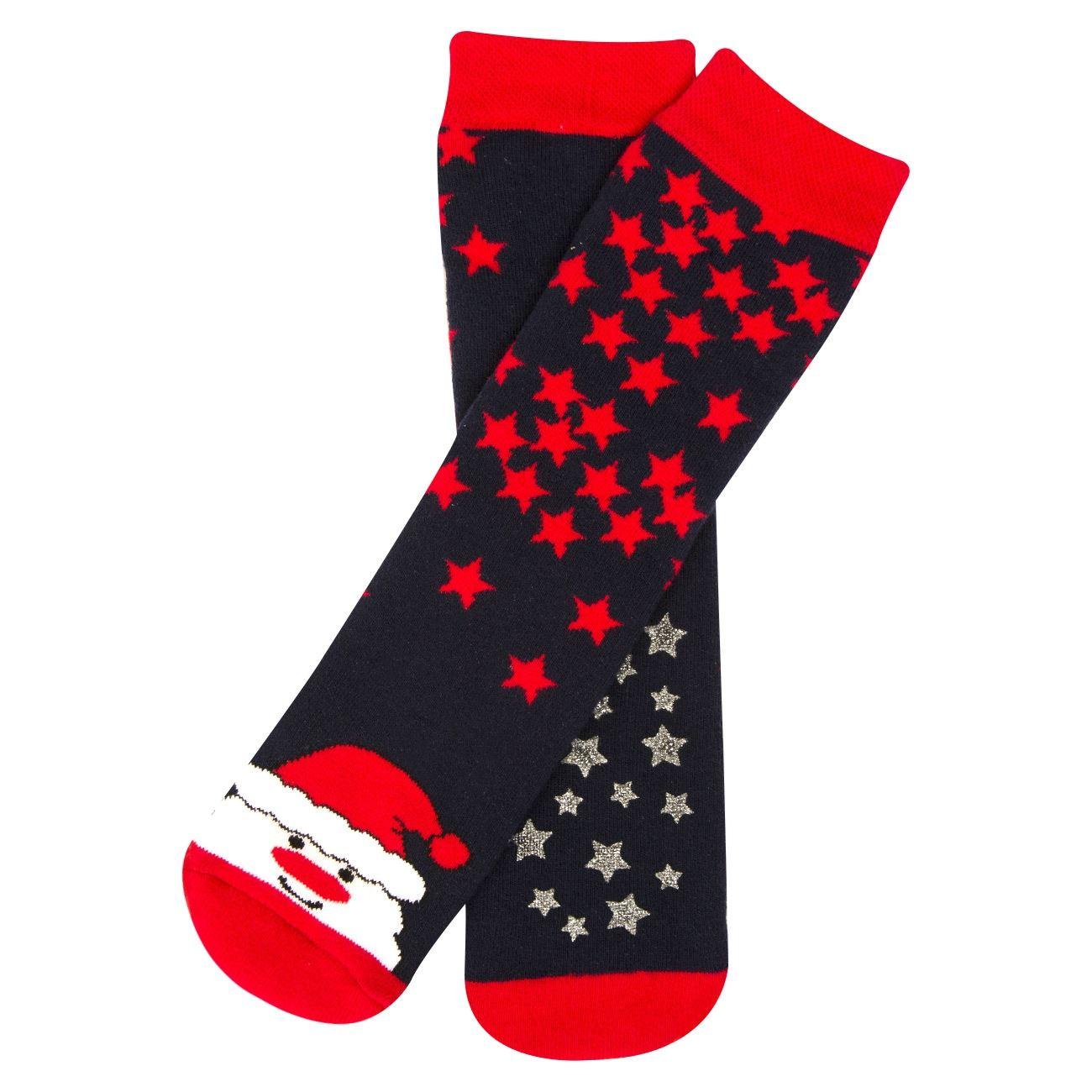 Χριστουγεννιάτικες Παιδικές Κάλτσες Αη Βασίλης Κόκκινες   Κάλτσες ... d85780f08a2