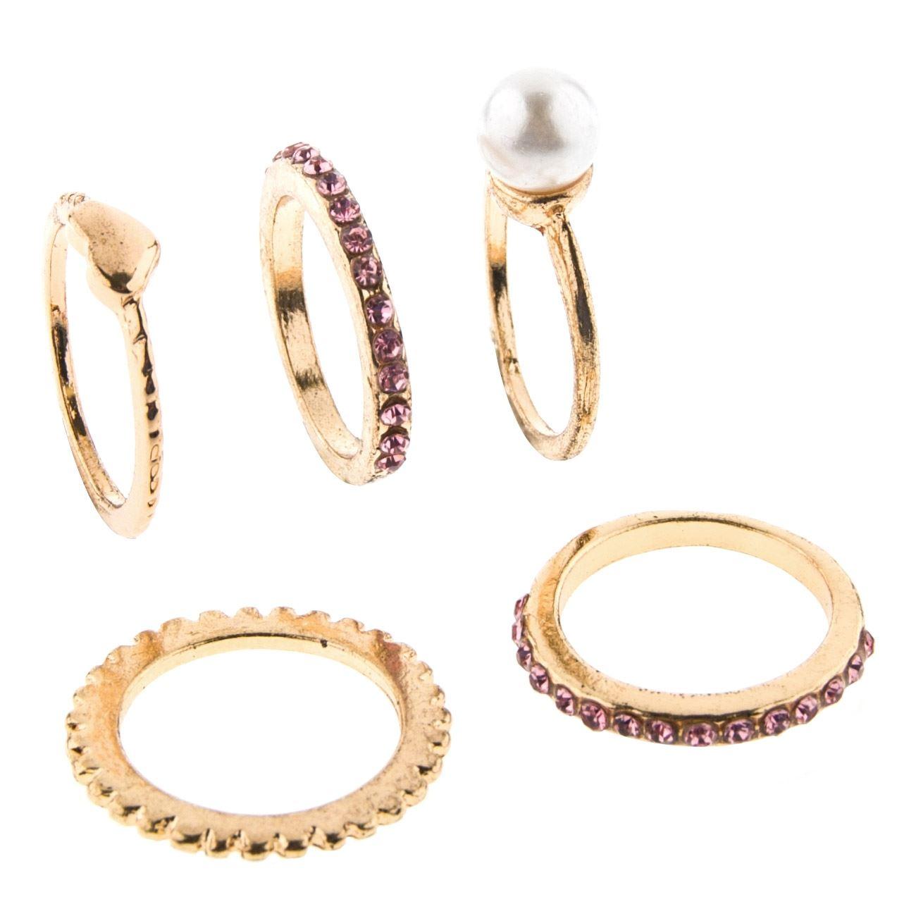 Δαχτυλίδια Χρυσά Πέτρες - 5 τμχ.   Δαχτυλίδια  178cf7bd3f8