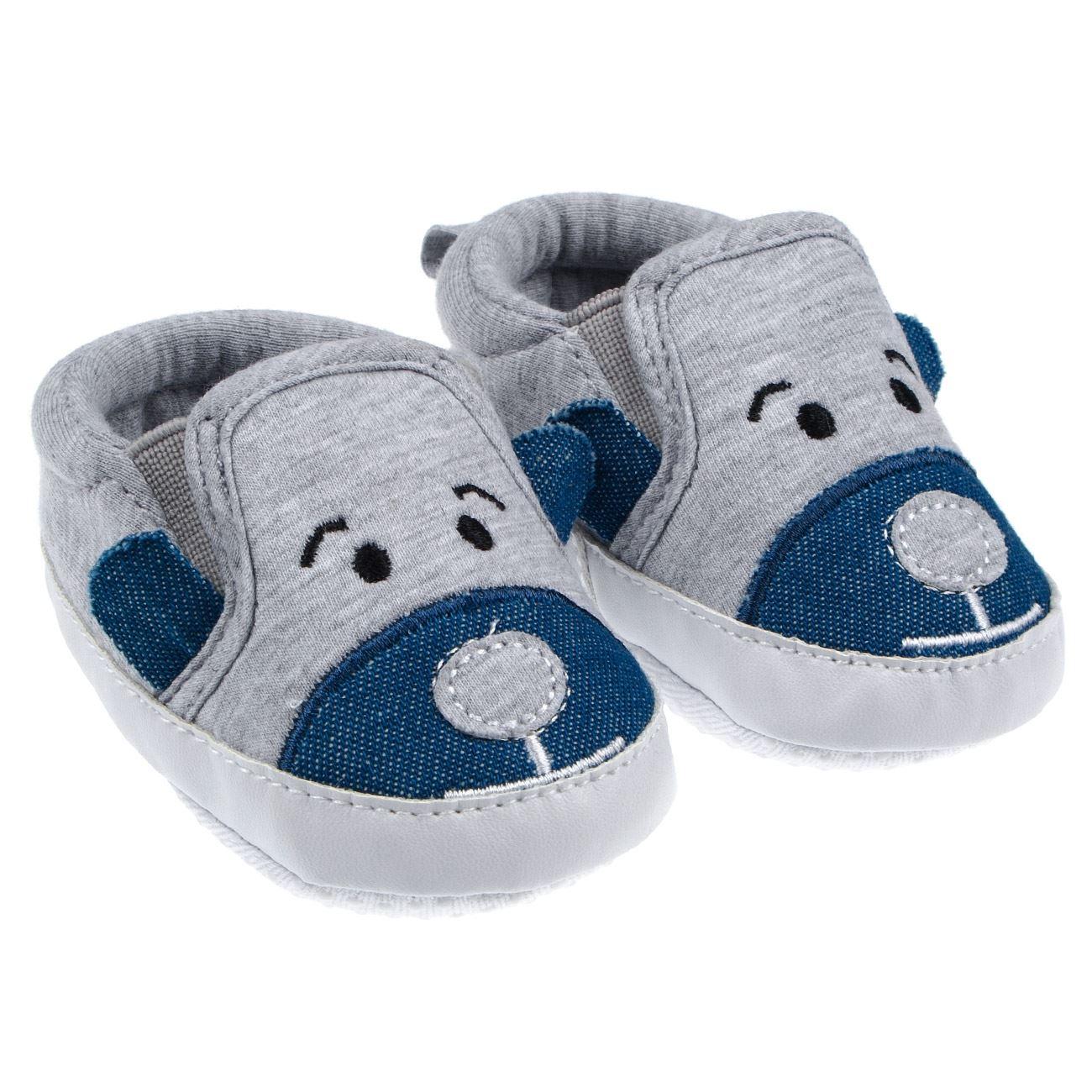 Βρεφικά Παπούτσια Με Ζωάκι   Παπούτσια Βόλτας 0-18 Μηνών Αγόρι  d9e990db286