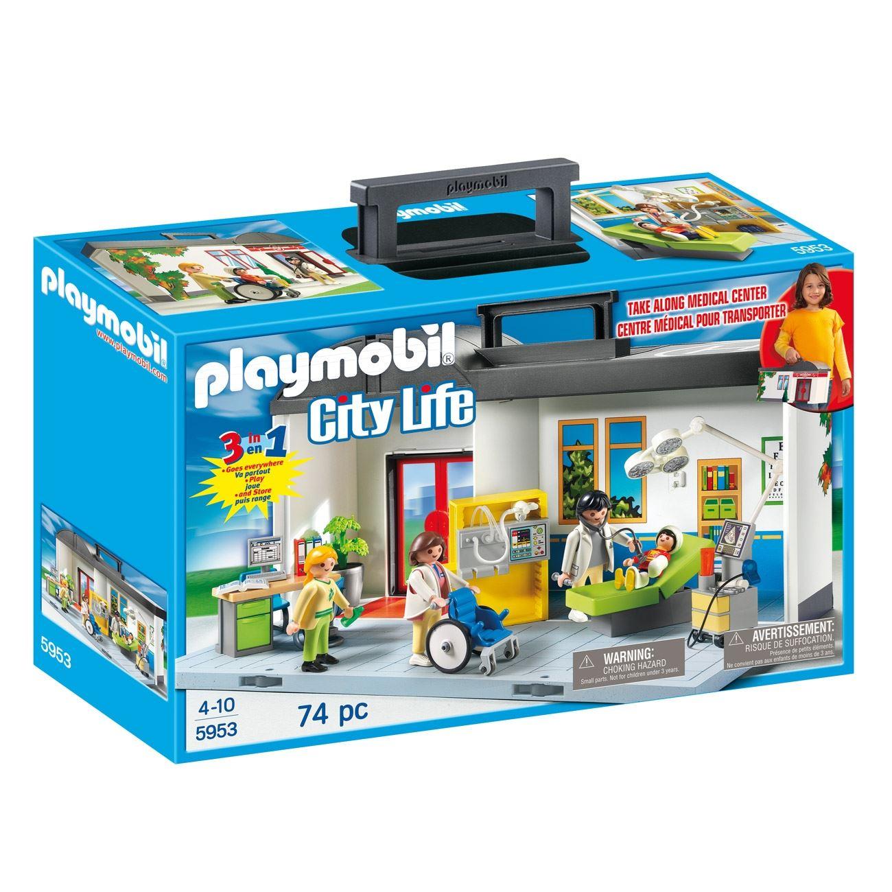 0a8f33d6a0 PLAYMOBIL Βαλιτσάκι Νοσοκομείο   Playmobil Παιδικός Σταθμός