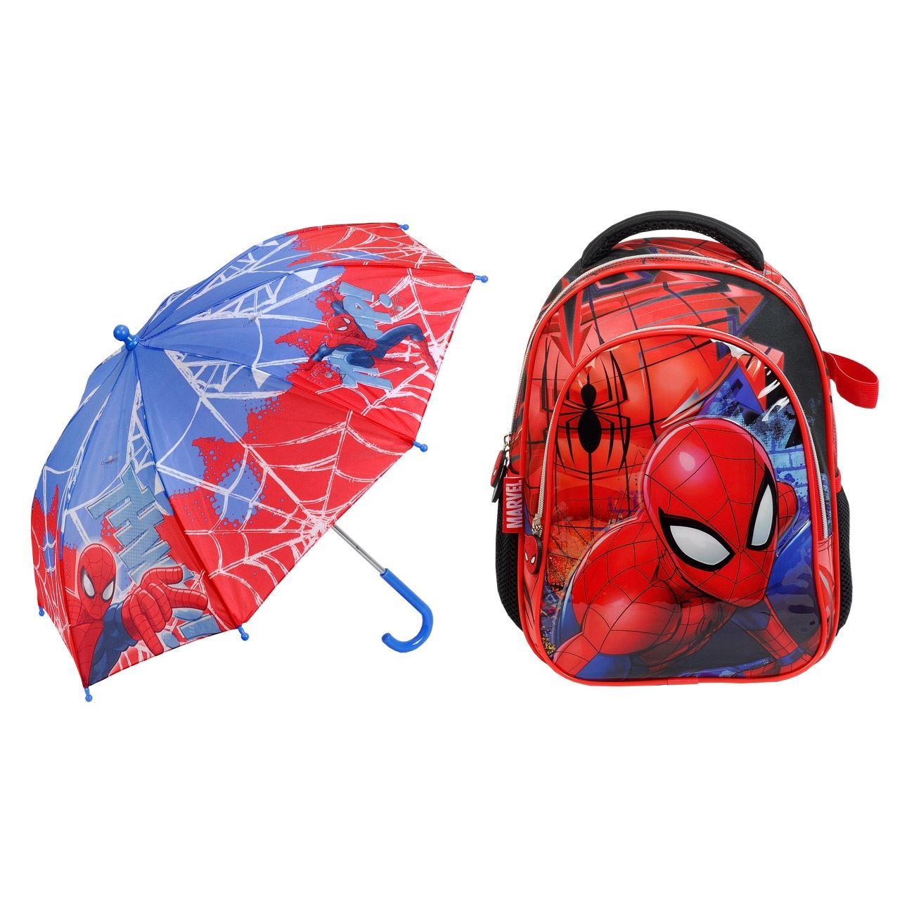 9a19c5951c Σχολική Τσάντα Νηπιαγωγείου   Ομπρέλα SPIDERMAN   Τσάντες ...