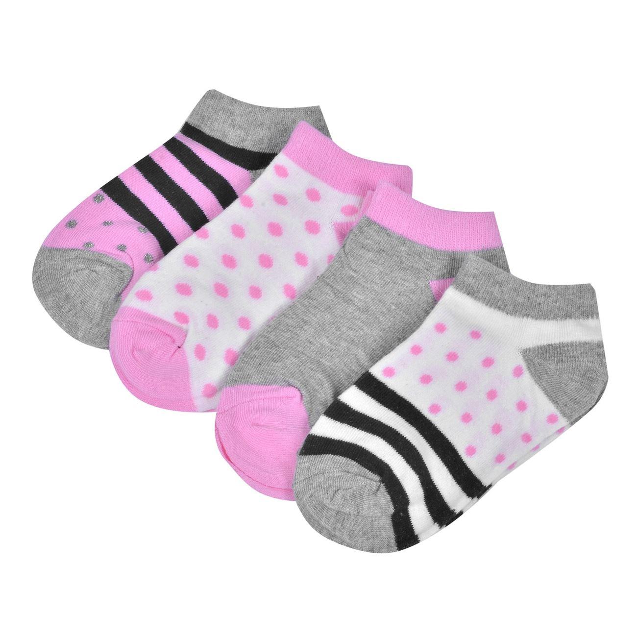 Κάλτσες Παιδικές Σοσόνια Πουά Ριγέ - 4 ζευγ.   Κάλτσες Σοσόνια ... abfa27aec37