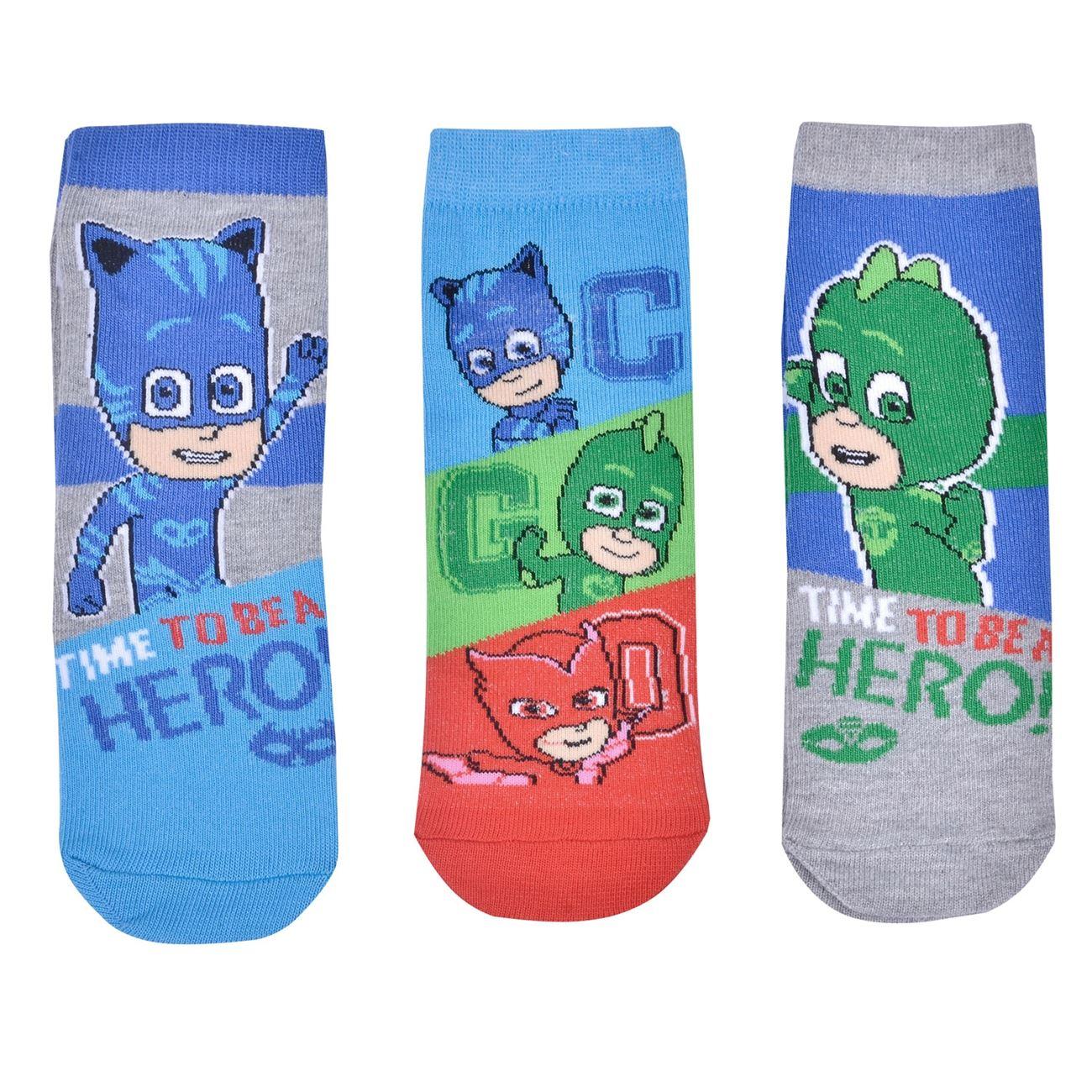 Κάλτσες Παιδικές PJ MASKS - 3 ζευγ.   Κάλτσες Παιδικές Αγόρι Πακέτο ... 87faa96a054