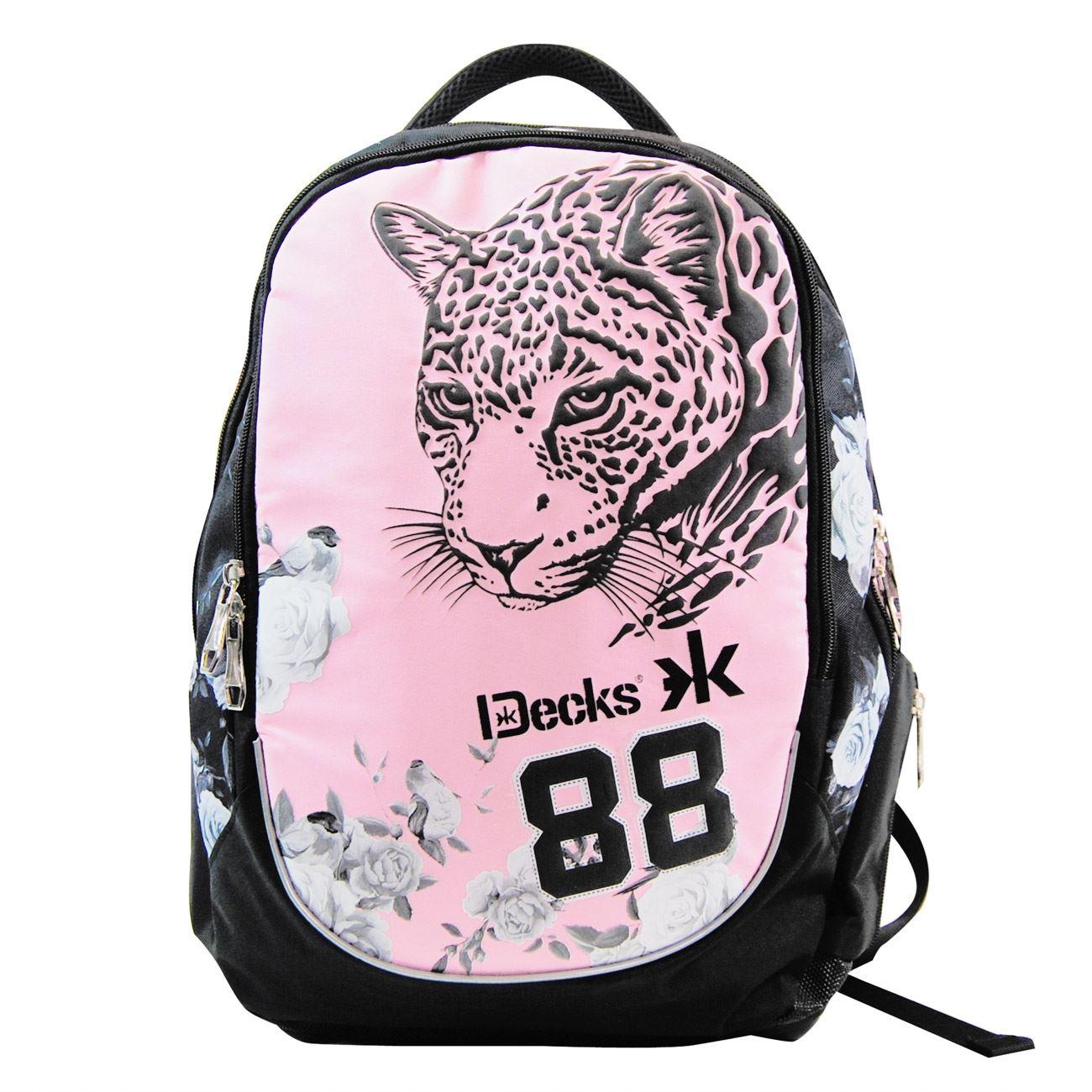 Τσάντες Decks · Πολυθεσιακό Σακίδιο Leopard Pink DECKS (με Κάλυμμα Βροχής)  ... a21055da5fc