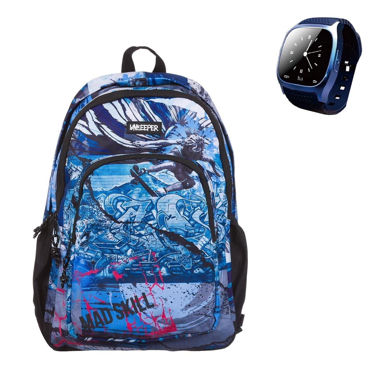 2e83f5dd79 Σχολική Τσάντα Skate   Smartwatch Unkeeper (Διαγωνισμός JUMBO)   Τσάντες  Unkeeper