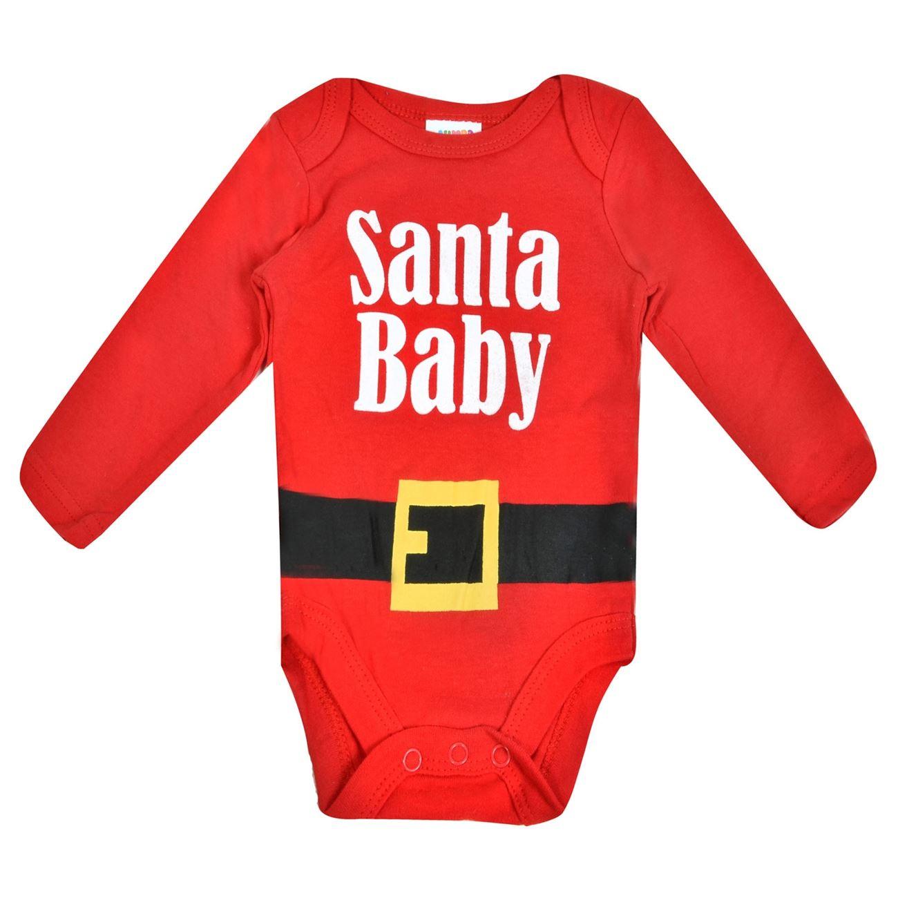 Χριστουγεννιάτικο Βρεφικό Εσώρουχο Φορμάκι Santa Baby   Εσώρουχα ... 4bec6e723e1
