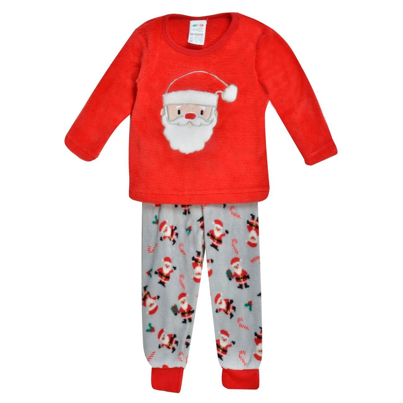 Χριστουγεννιάτικη Πυτζάμα Βρεφική Fleece Αη Βασίλης   Πυτζάμες ... 59f17dd7e0b