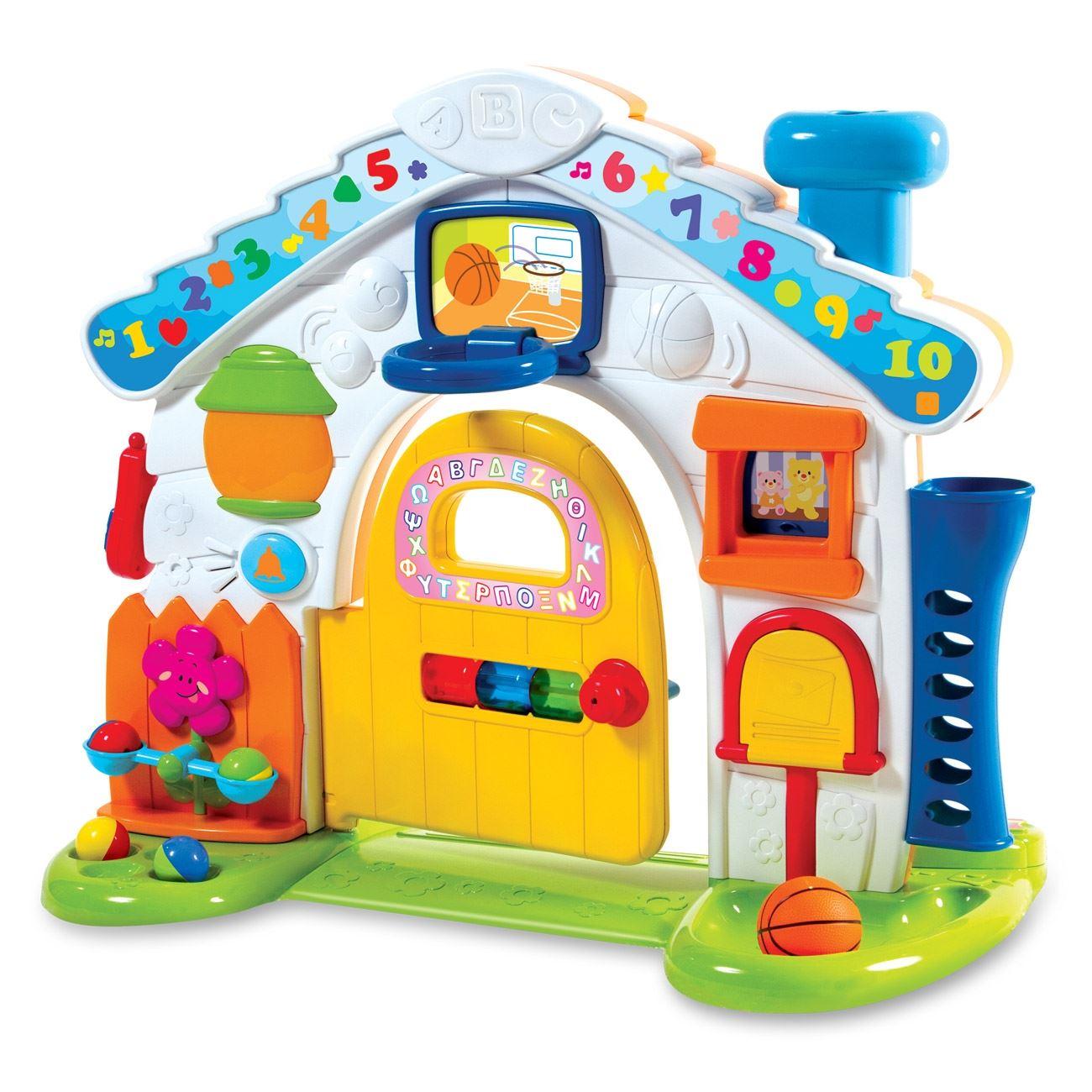01ee3bef144 παιχνιδια για παιδια 2 ετων Jumbo   Μουσικό Σπιτάκι με Φωτάκια < Προσχολικά  Παιχνίδια Δραστηριοτήτων