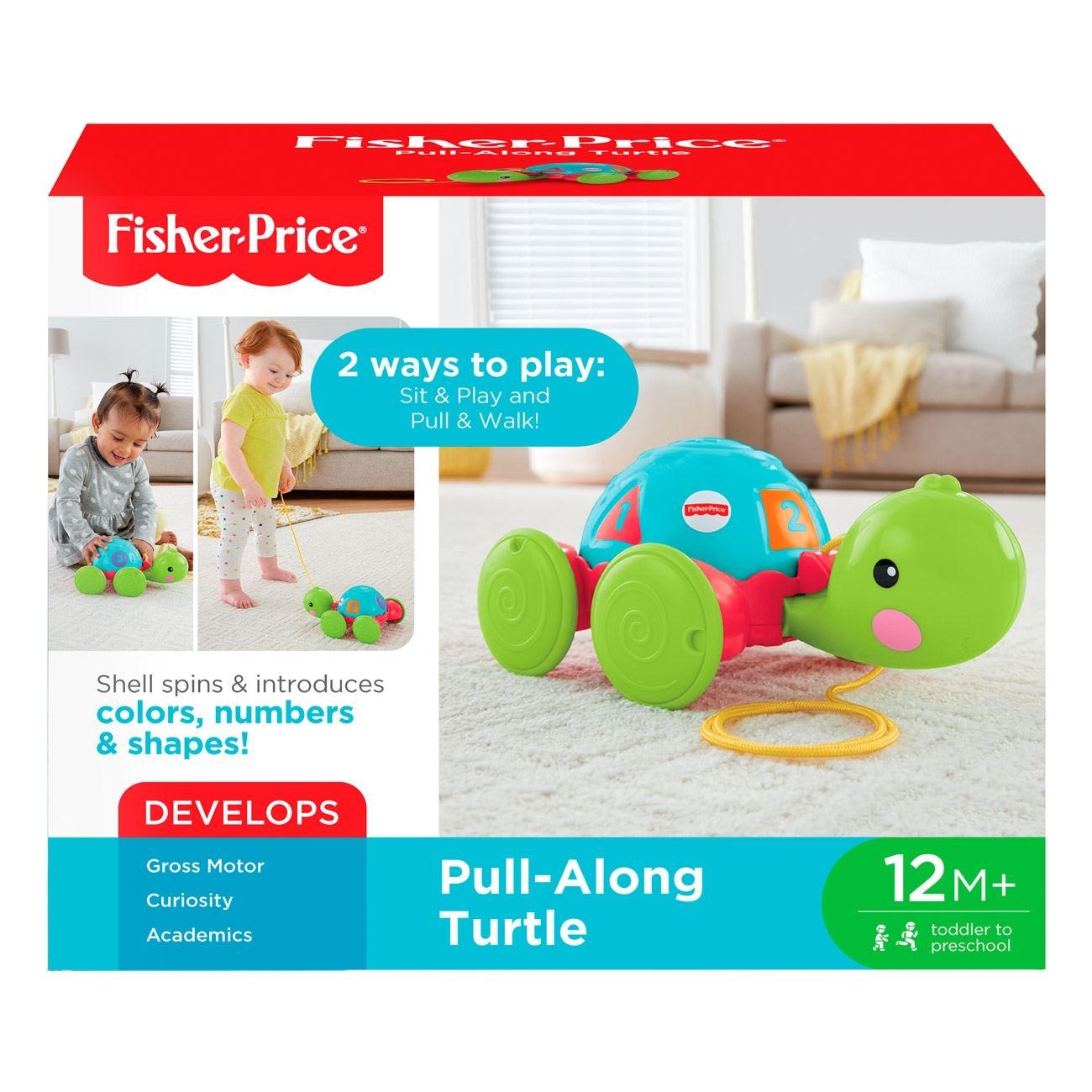4e58f58f86 Χελωνίτσα Συρόμενη - Fisher Price   Παιχνίδια Fisher Price